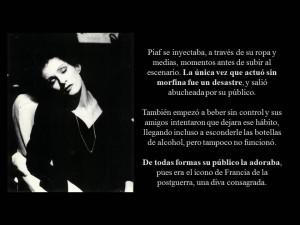 Edith Piaf lecciones de amor JD