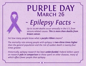 Epilepsy Quotes and SayingsWear Purple, Epilepsy Awareness, Life ...