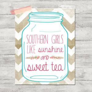 Cute Southern Girl Quotes Pink southern girls like