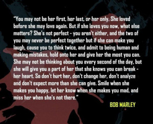 Bob marley quotes about love bob marley quotes picture quote on love