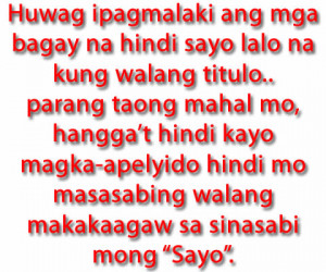 ... are the collections of Love quotes tagalog and Tagalog love quotes
