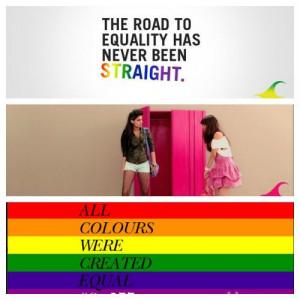 Brands support LGBT movement