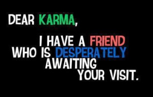 Waiting for karma...