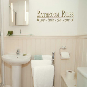 Bathroom toilet quotes quotesgram for Small bathroom quotes