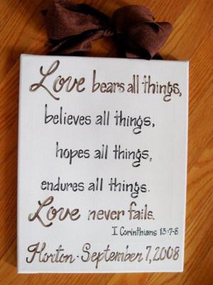 Bible Quote, Bible Verse Wedding Signs, Wedding Bible Verses, Bible ...