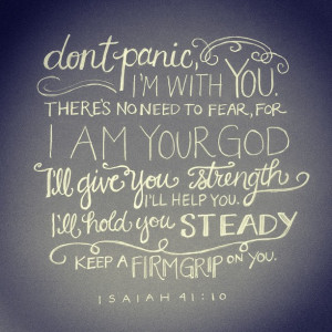 bible quotes about strength and hope