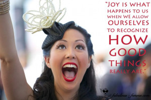 quote - joy and happiness
