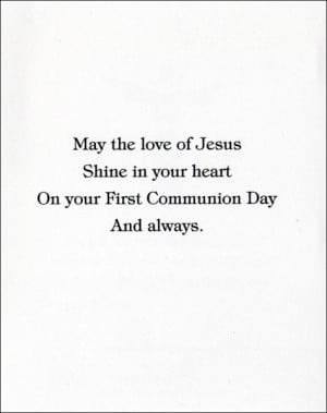 First Holy Communion Quotes From The Bible picture