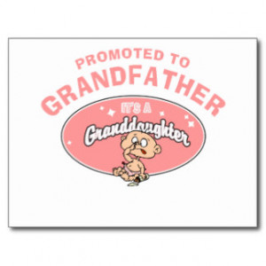 New Granddaughter Grandpa