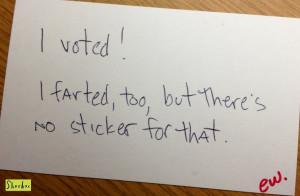voted!