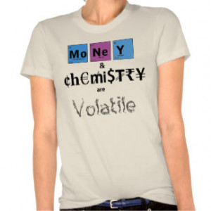 Cool tops with chemistry quotes tshirt