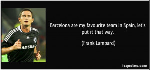 More Frank Lampard Quotes
