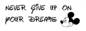 My Disney quote