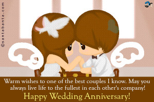 Funny Happy Anniversary Quotes For Friends happy anniversary to couple