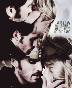 Time Captain Hook and Emma Kiss | Captain Hook and Emma Swan Emma ...