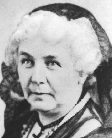 Elizabeth Cady Stanton. Reproduced by permission of AP/Wide World ...