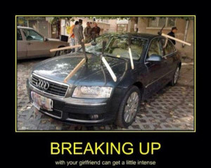 car-humor-funny-joke-road-street-drive-driver-breaking-up-girlfriend ...