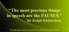 Public Speaking - Quotes, tips, strategies and stories from and for ...