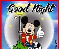 Disney Good Night Quote