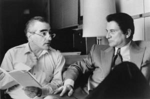 Martin Scorsese and Joe Pesci in Casino