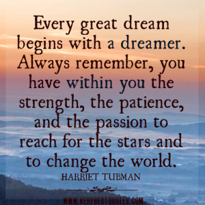 GREAT motivational quotes about dreams, strength, passion, patience