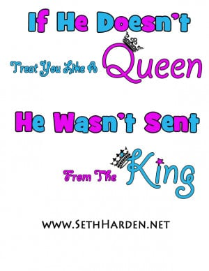 King And His Queen Quotes Queen quote graphic t-shirt.