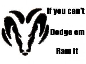 dodge sayings