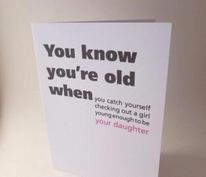 17. Funny birthday card -