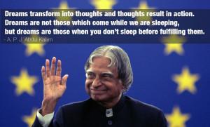 APJ Abdul Kalam's ten inspiring quotes - Photos