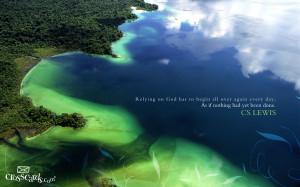 Lewis and Nature Papel de Parede Imagem
