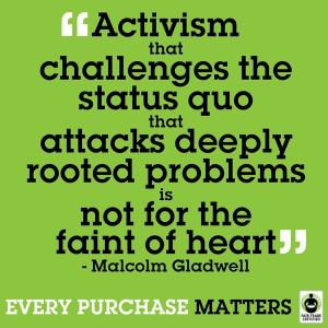 Challenge the status quo...