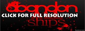 Abandon all ships facebook cover photo