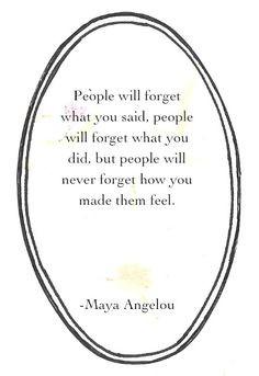 Maya Angelou♥