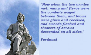 Ferdowsi quotes 3