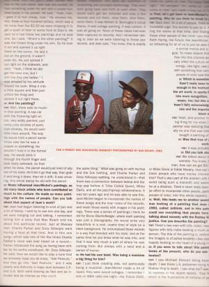 """MAGAZINE OCTOBER 1992 Jean Michel Basquiat by Fred """"Fab 5 Freddy ..."""