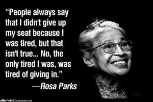 Best Rosa Parks quotes