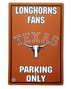 Texas Longhorns Parking