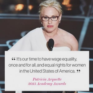 Equal pay for equal work at the Oscars