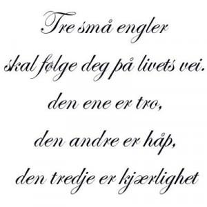 WALLSTICKER ETC. » ENGLISH/ NORWEGIAN TEXT