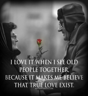 old people love quotes