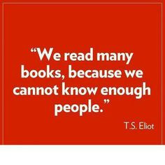 Eliot on Books More