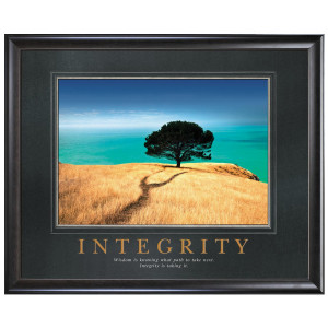 Integrity Tree Motivational Poster