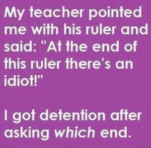 Teacher Humor