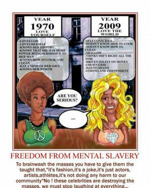 Freedom Mental Slavery