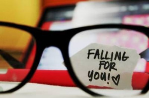 cool, eye glasses, falling for you, heart, love, loving, loving you