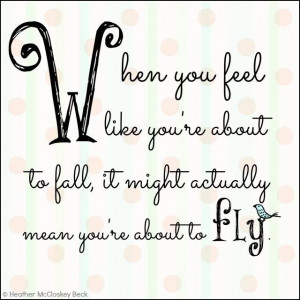 Take the Leap.... and FLLLLYYYYY! #inspiration #quote