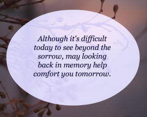 Comforting Words of Sympathy Quotes