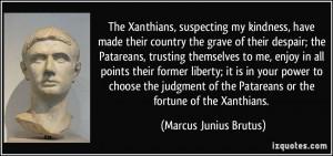 Marcus Brutus Quotes