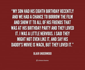 Happy Birthday To My Son Quotes Preview quote