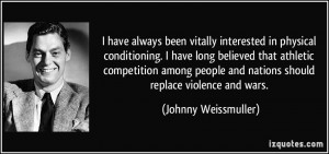 have always been vitally interested in physical conditioning. I have ...